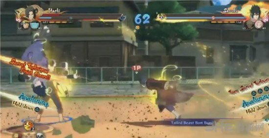 火影忍者疾风传究极忍者风暴4怎么用佐助使用神罗天征技能1