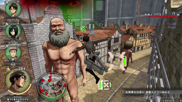进击的巨人街机版游戏屏摄截图1