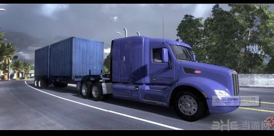 美国卡车模拟导航上移MOD截图0
