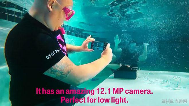 三星S7开箱性测试水下防水视频公布-测试人视频伽马紬图片