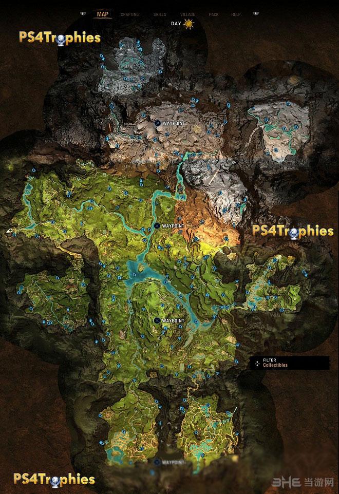 孤岛惊魂原始杀戮收集地图1