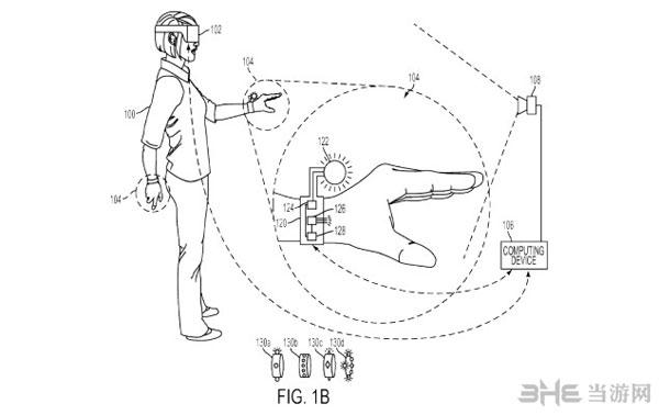 索尼VR手套专利图2