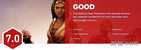 行尸走肉米琼恩第一章IGN评分