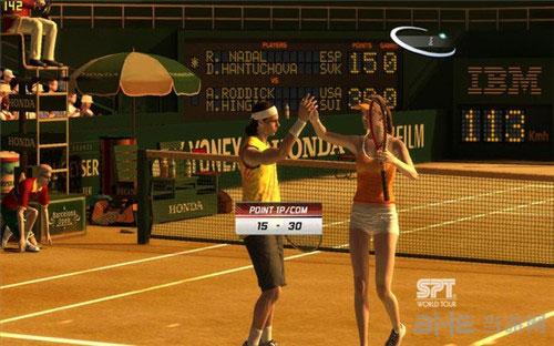 VR网球3截图1