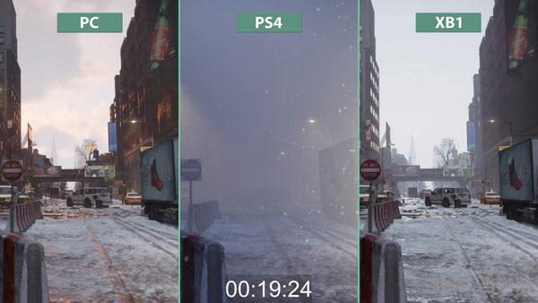 全境封锁画面对比视频截图2