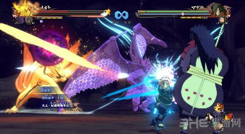 火影忍者:究极忍者风暴4降低游戏亮度+抗锯齿+锐化截图0