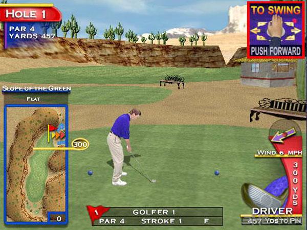 高尔夫黄金开球截图2