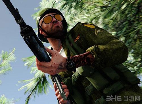 侠盗猎车手5二战美军服装MOD截图0