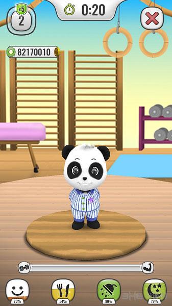 我的会说话的熊猫电脑版截图0
