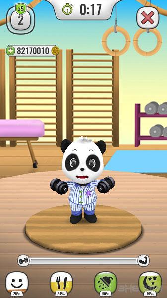 我的会说话的熊猫电脑版截图1