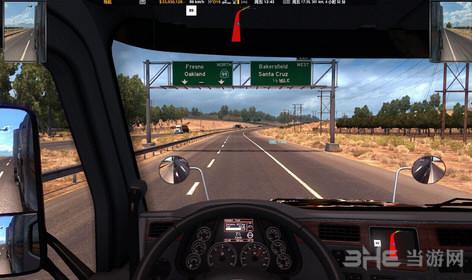 美国卡车模拟导航位置上移MOD截图0