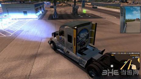 美国卡车模拟氙气灯光MOD截图0