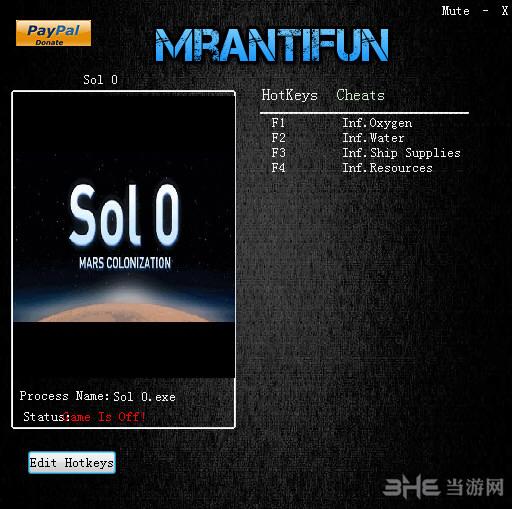 第零天:火星殖民四项修改器截图0