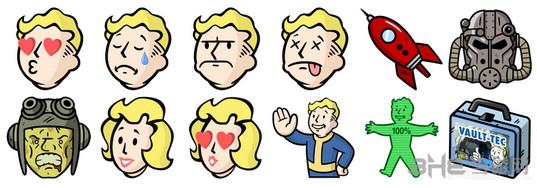 辐射4官方Emoji表情包截图1