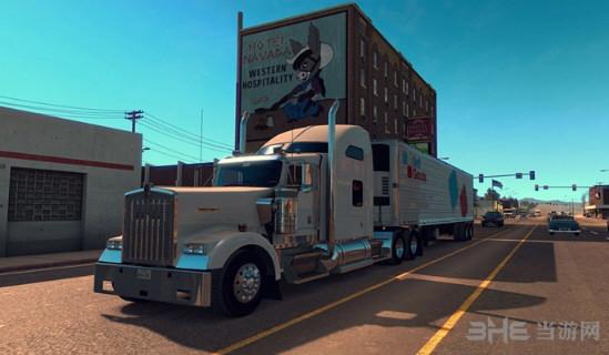 美国卡车模拟肯沃斯T680野狼皮肤MOD截图0