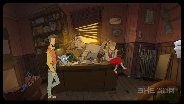 狼人侦探和披萨男孩的冒险截图1