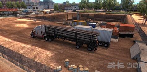 美国卡车模拟ATS木料拖车MOD截图0