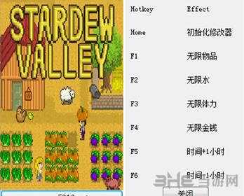 星露谷物语六项修改器截图0