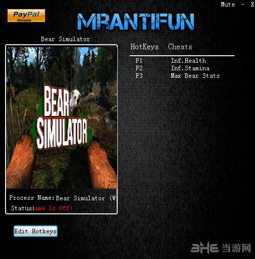 模拟野熊三项修改器截图0