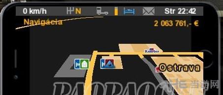 欧洲卡车模拟2苹果6S导航器mod截图0