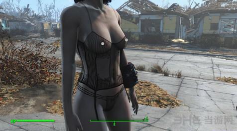 辐射4老滚5性感衣服MOD截图0