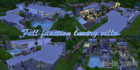 模拟人生4全功能的豪华别墅MOD截图0
