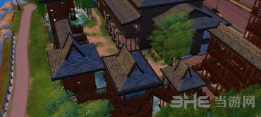 模拟人生4中式房屋MOD截图0
