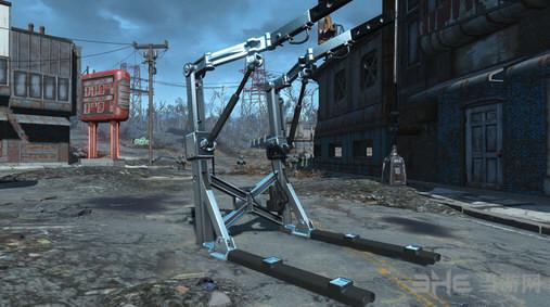 辐射4动力装甲站纹理MOD截图0
