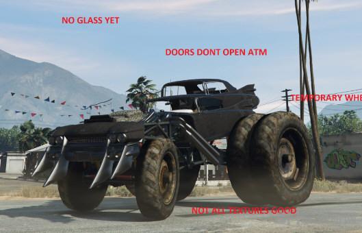 侠盗猎车手5疯狂麦克斯巨型Gigahorse车MOD截图0