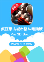 疯狂拳击城市格斗电脑版( Pro 3D Boxing)安卓无限金币版