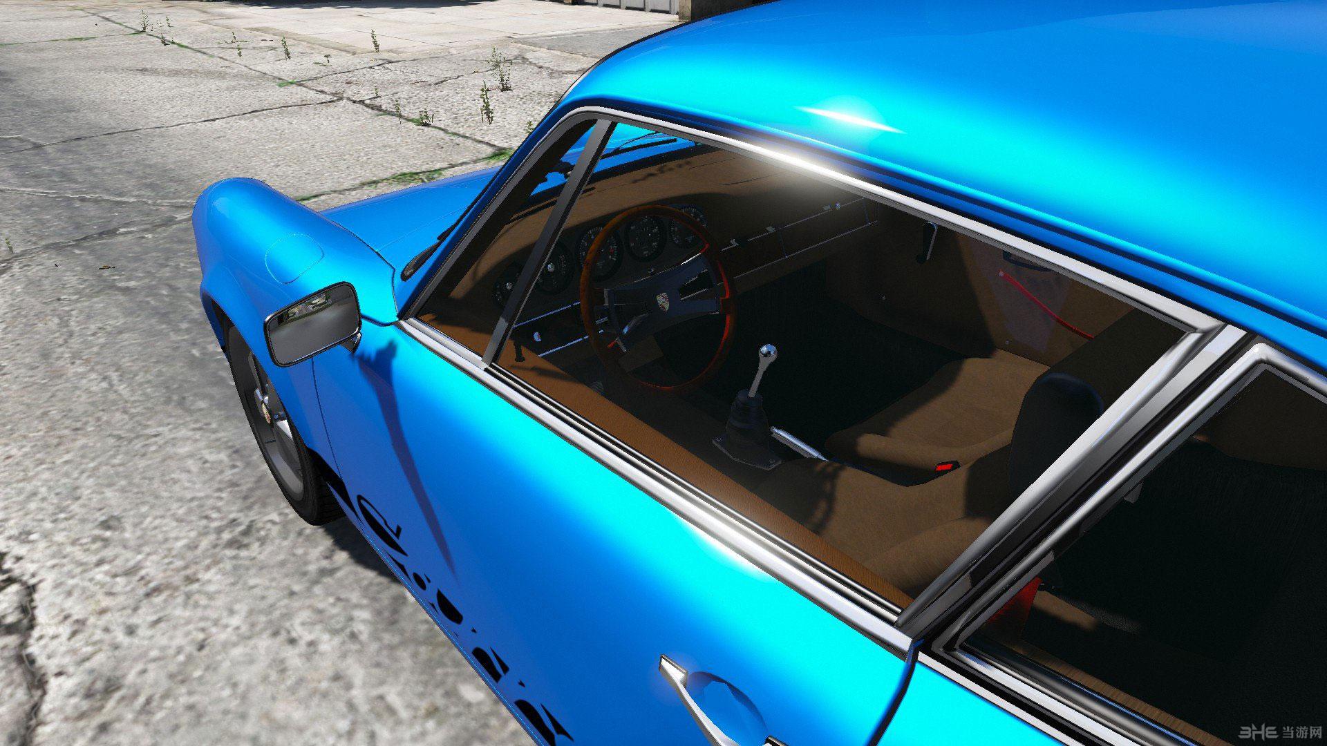 侠盗猎车手5 1973版保时捷911卡雷拉RS MOD截图2