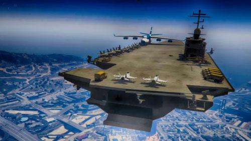 侠盗猎车手5航空母舰MOD截图1