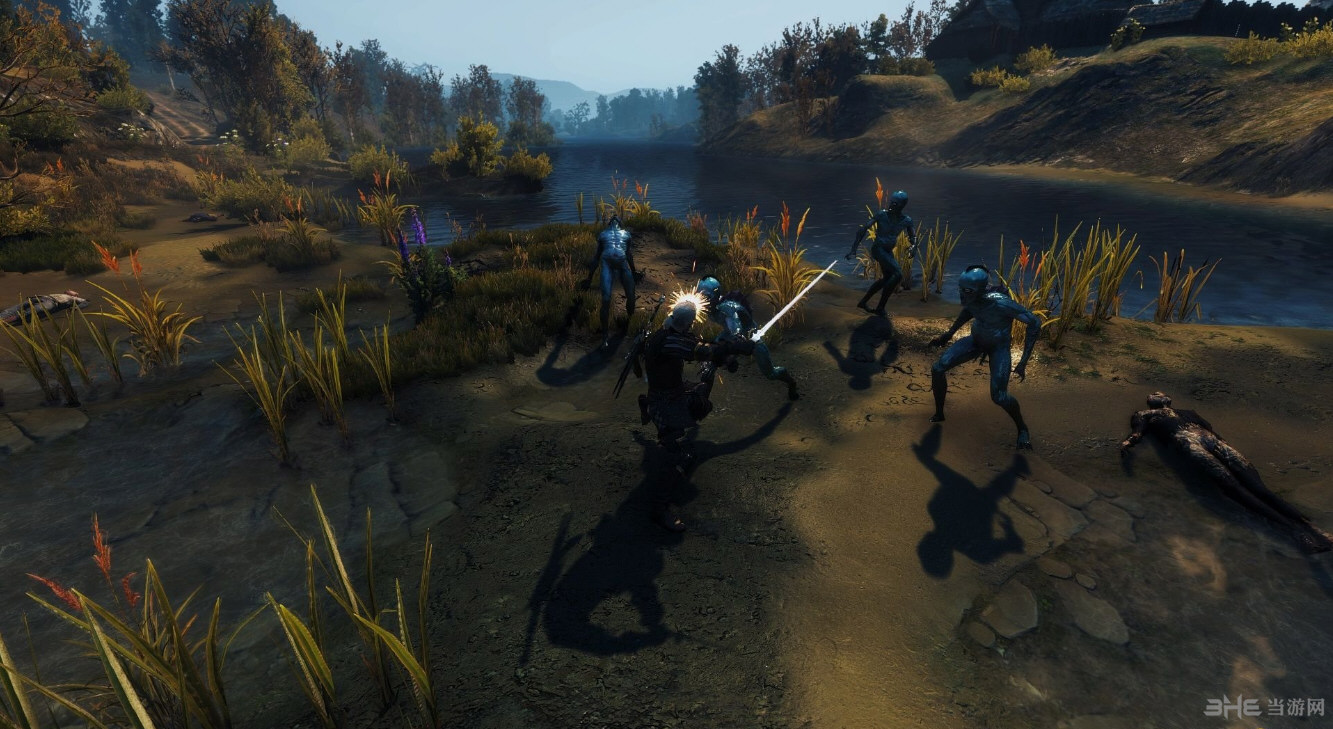 巫师3:狂猎可格挡重击MOD截图0