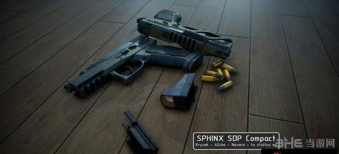 求生之路2 Sphinx SDP Compact手枪MOD截图0