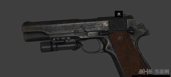 求生之路2柯尔特M1911A1手枪MOD截图0