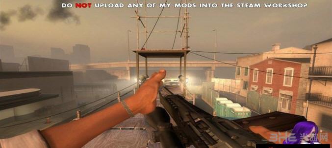 求生之路2 SG550狙击步枪MOD截图1