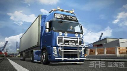 欧洲卡车模拟2真实沥青路面mod截图0