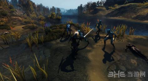 巫师3:狂猎挡可以格挡重击MOD截图0