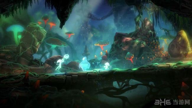 奥日和黑暗森林终极版截图3