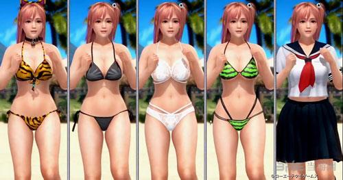 死或生沙滩排球3泳衣1