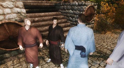上古卷轴5天际日式男性和服MOD截图2