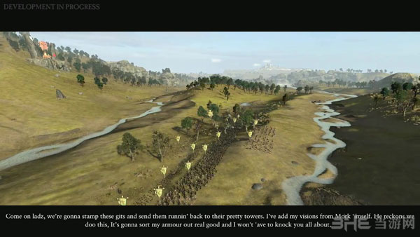 全面战争战锤视频演示截图1