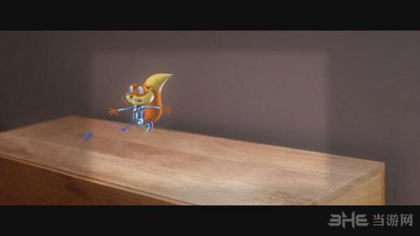 Hololens松鼠大作战演示视频截图1
