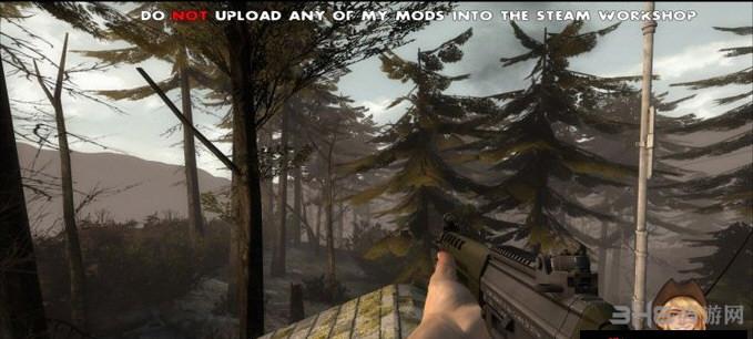 求生之路2 SG551突击步枪MOD截图1