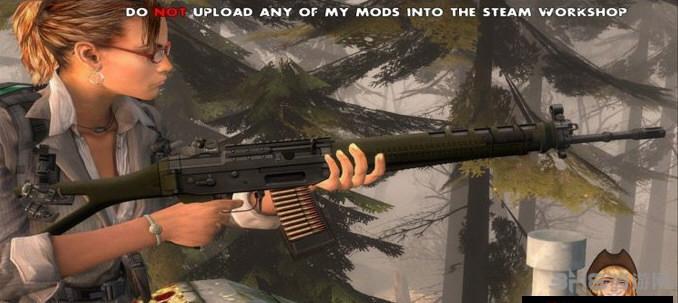 求生之路2 SG551突击步枪MOD截图2