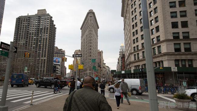 全境封锁纽约实景对照图4