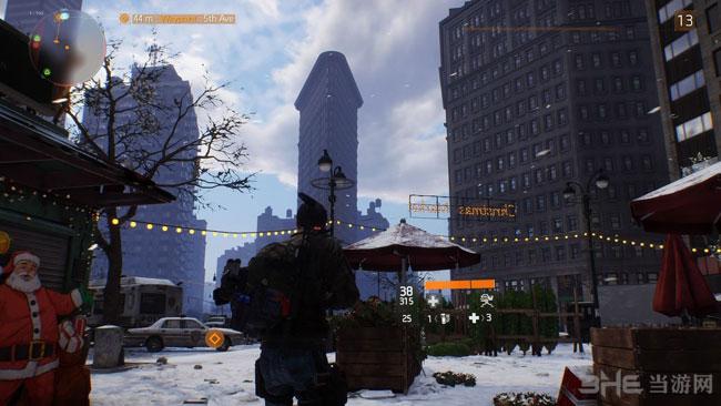 全境封锁纽约实景对照图3