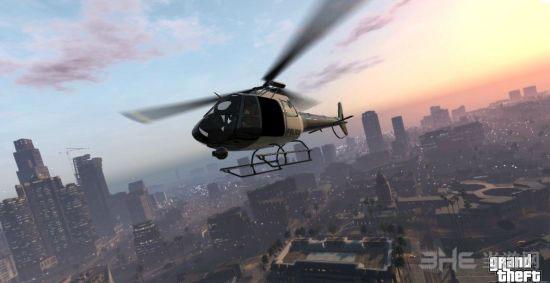 侠盗猎车手5直升机