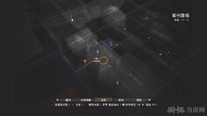 全境封锁echo全收集地图1