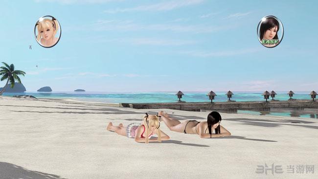 死或生沙滩排球3全新截图欣赏 玛丽罗斯人气高